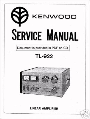Trio kenwood tl-922 TL922 instruction service manual