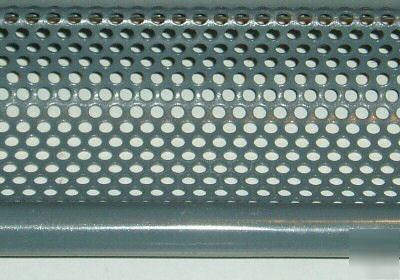 Rolling steel door perforatedventilated slats