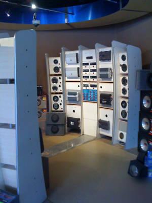 Winntech custom car audio display sound room audio