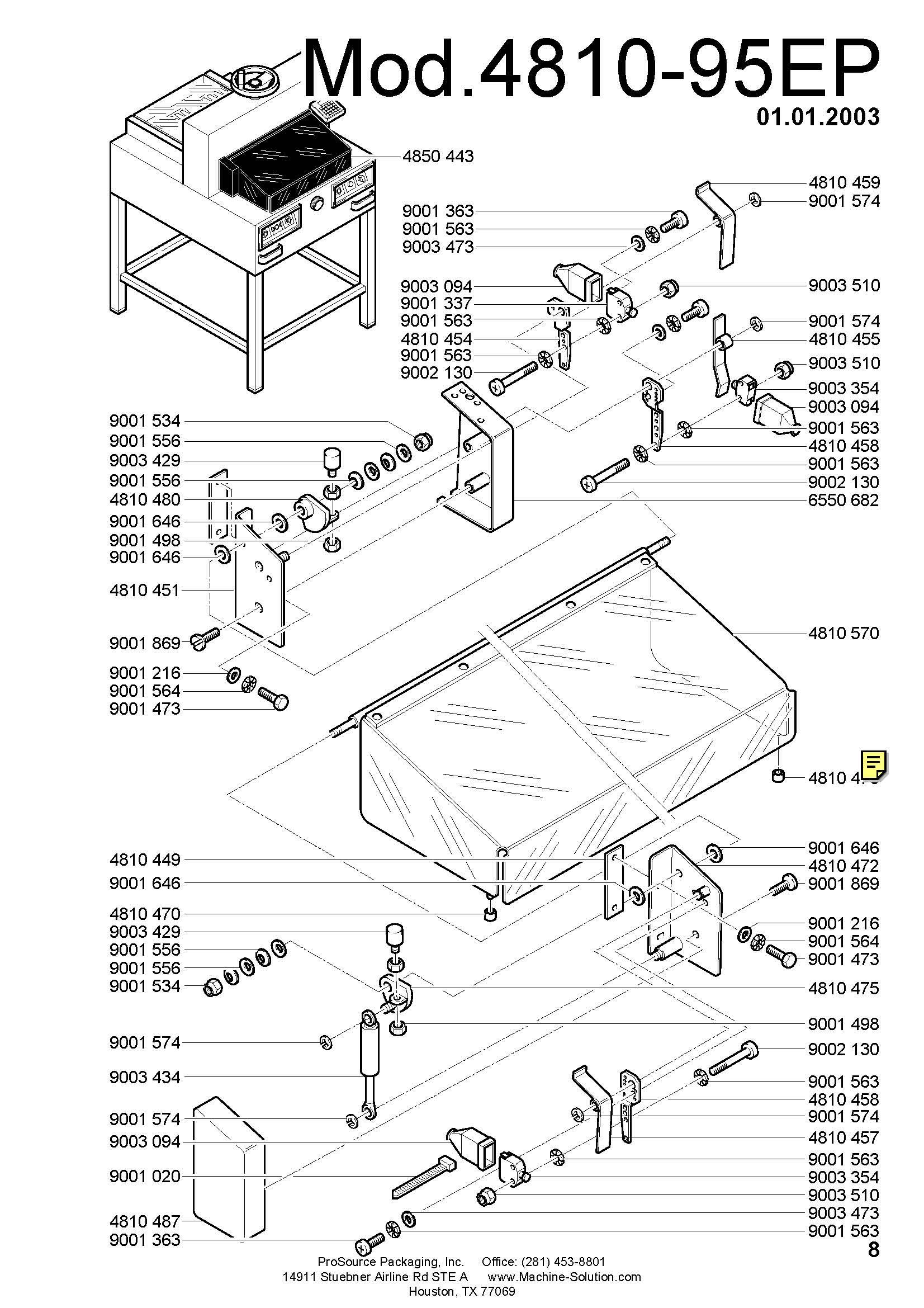 Triumph paper cutter 4810 wiring diagram