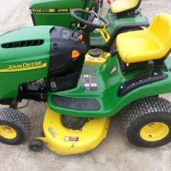 John Deere D140 Lawn Tractor Wiring Diagram Onan Rv Generator La100 Mower L100