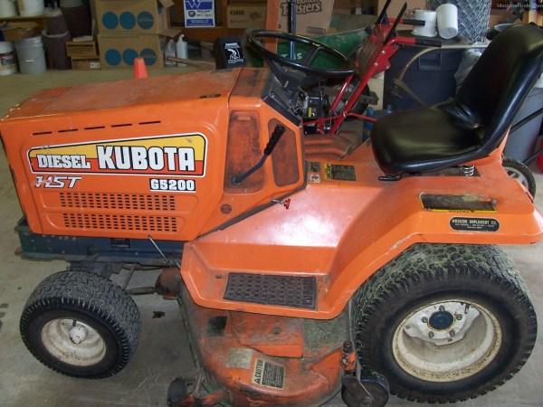 Kubota G5200 Year Of Clean Water
