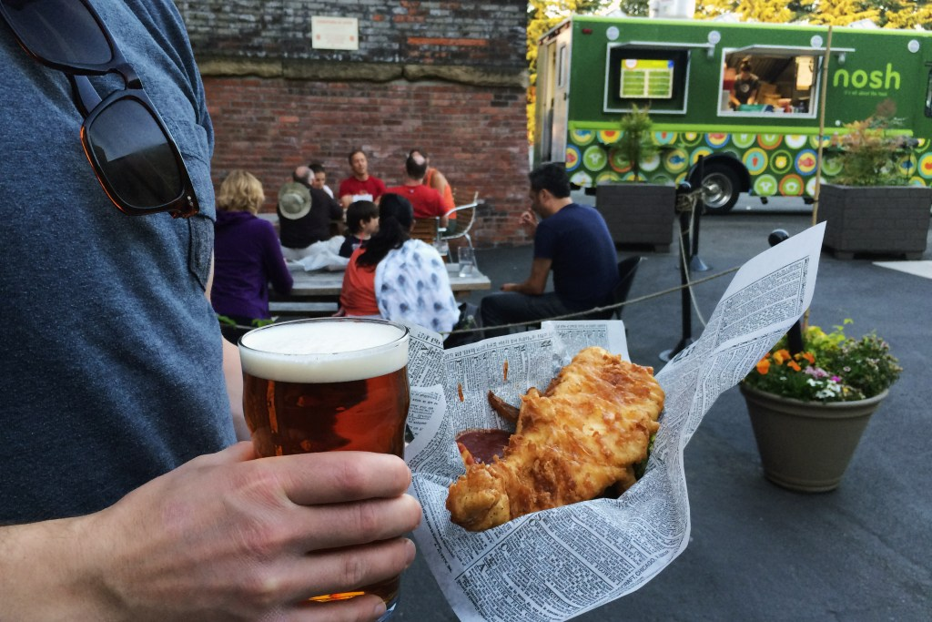 Nosh Truck Fish and Chips