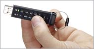 iStorage datAshur 256-bit Encrypted USB 2.0 Flash Drive Usage Step 1