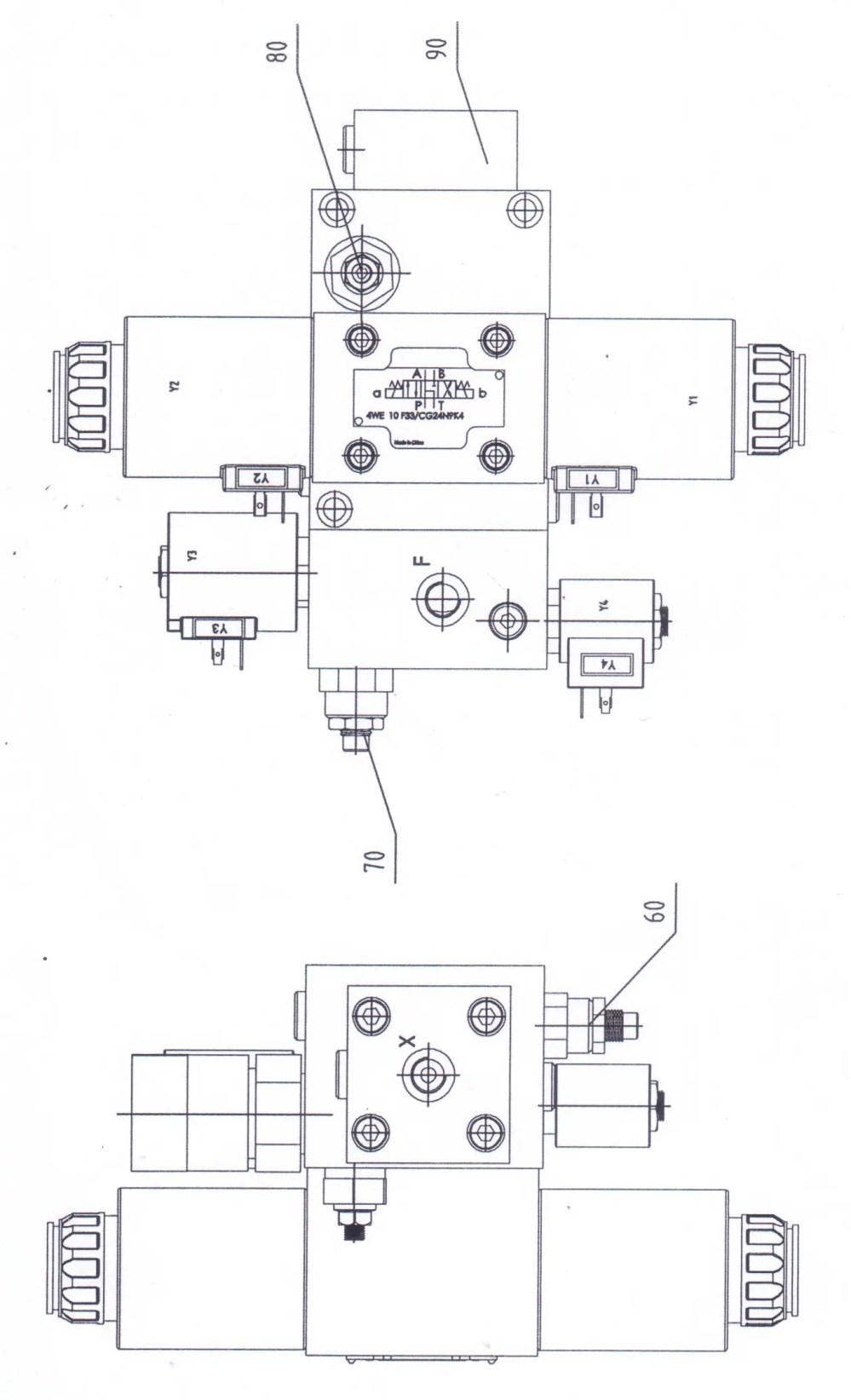 medium resolution of press brake hydraulic diagram