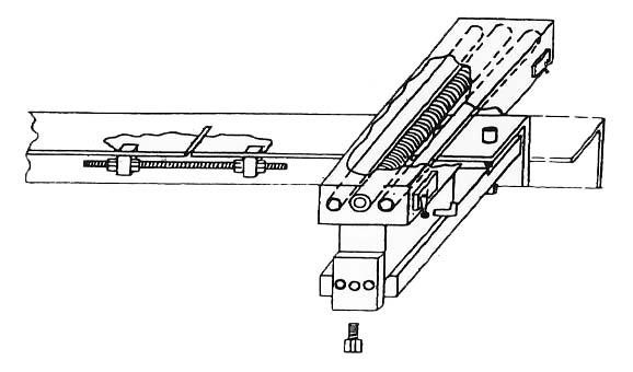 GUILLOTINE SHEARS BACK-GAUGE ASSEMBLY