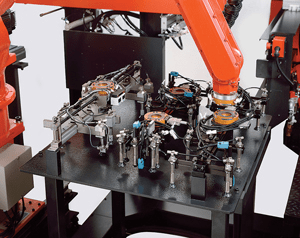 automatic clamping tools replacement devices
