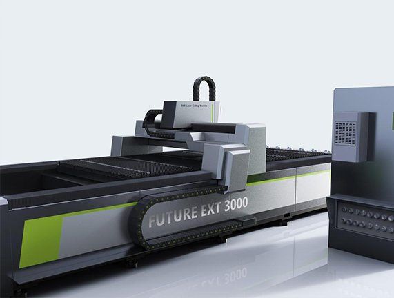 desktop fiber laser cutter's cooling, lubrication and dust removal system