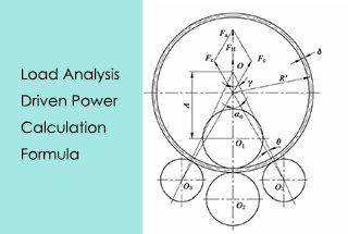 Load Analysis and Driven Power Calculation of Four Roll Bending Machine