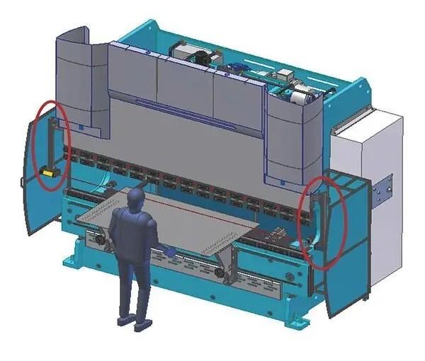Press Brake Laser Protection