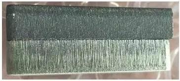 Oxygen cutting surface