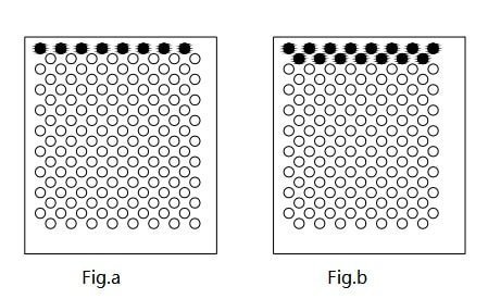 Figure 1-1 Schematic diagram of dense hole punching