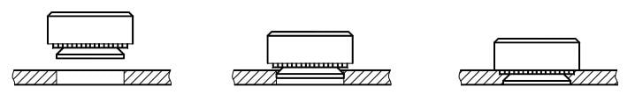 Figure 1-42 Schematic diagram of the riveting process