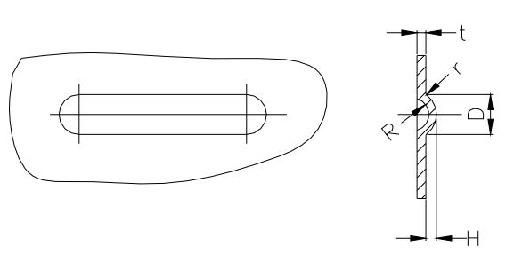 Figure 1-53 Symmetrical structure of the rib