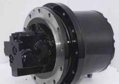 the hydraulic motor
