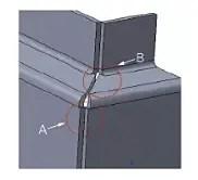 Schematic diagram before optimization