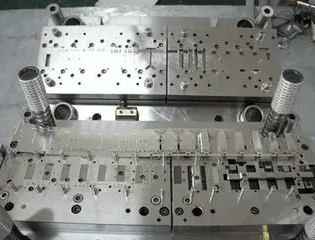 The overall design of the mold