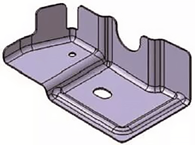 Mold of stamping part