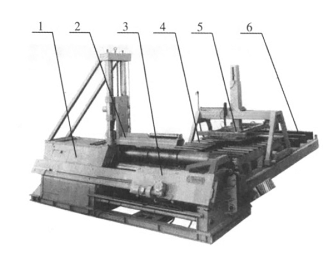 Fig. 9 Layout II of coil flexible processing unit