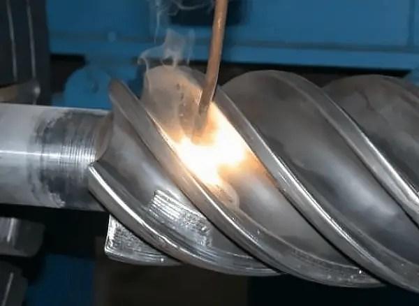 Laser repair of worn parts