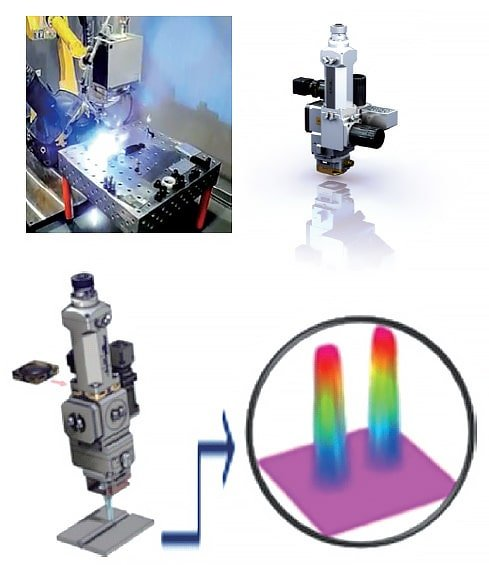 Common laser welding head