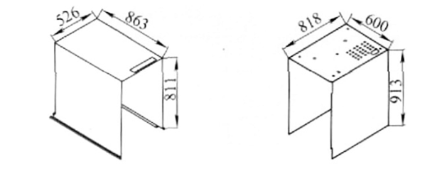 Fig. 1 Inner container Fig. 2 Outer shell
