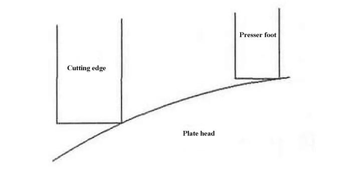Fig. 6 Schematic diagram of shear failure