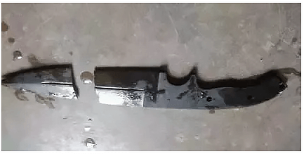 metal fracture during quenching