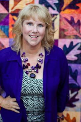 Carla Barrett International quilting teacher