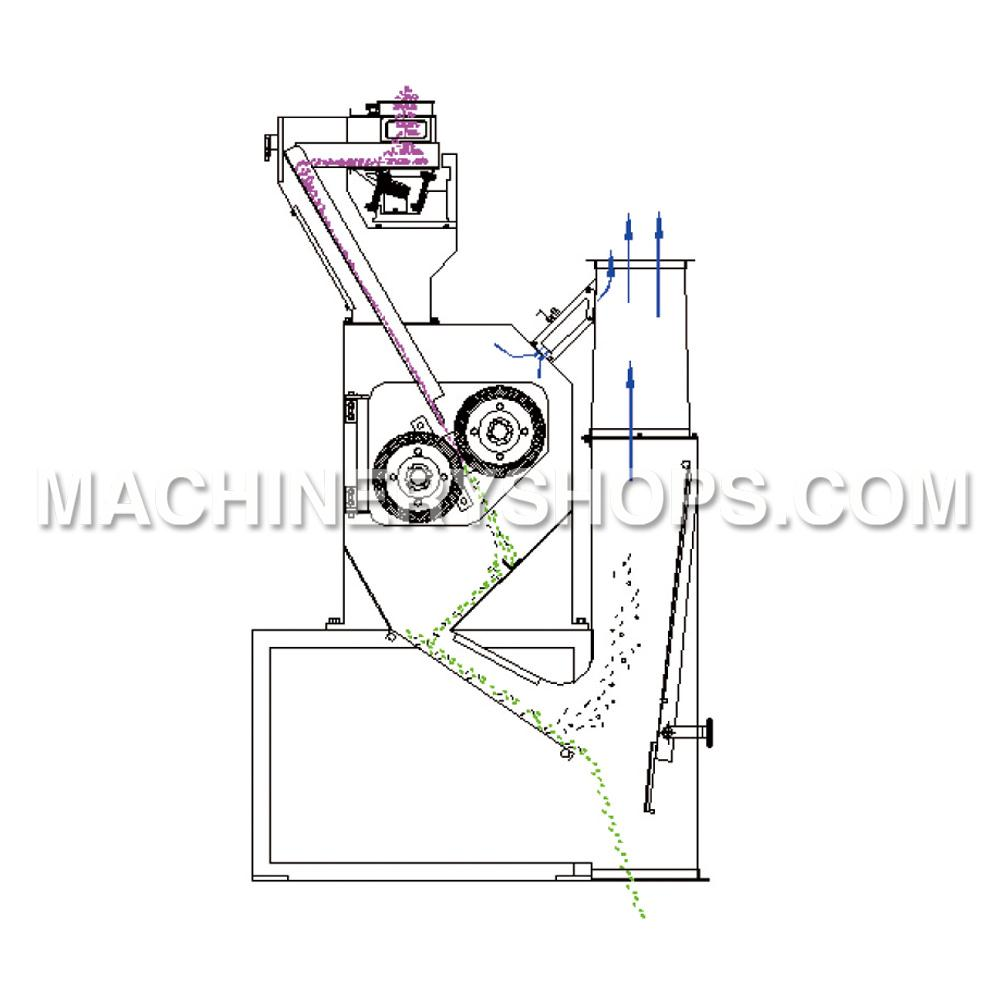 MLGQ-C Pneumatic Huller, MLGQ-C Pneumatic Huller