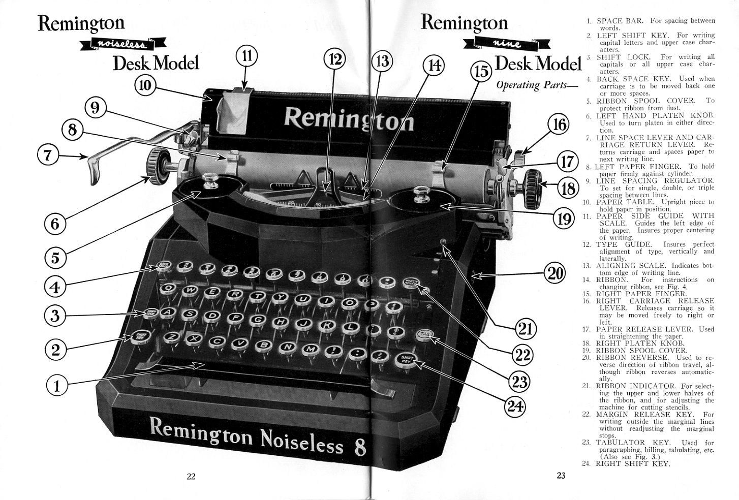 hight resolution of remington noiseless 8 and 9