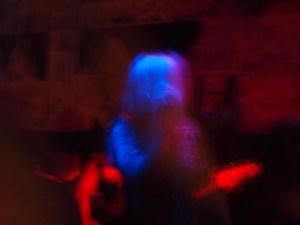 White Lung playing at Beerland during Chaos in Tejas (Austin, TX)