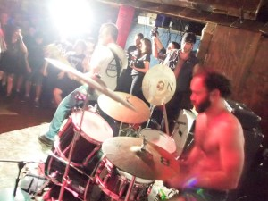 No Statik playing at Beerland during Chaos in Tejas (Austin, TX)