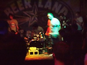 Urban Blight playing at Beerland during Chaos in Tejas (Austin, TX)