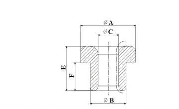 Alumina Al2O3 Ceramic Wire Guide / Ceramic Eyelets for