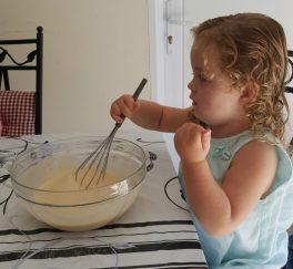 chouquette et pâte à crêpes