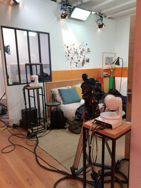 la chambre parental de la maison des maternelles