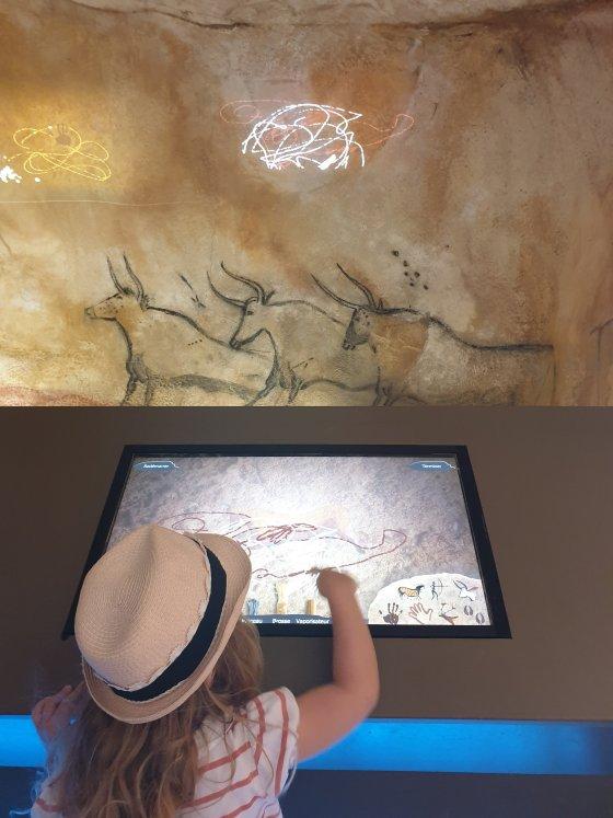faire des dessins préhistoriques