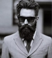hairstyles men with beard