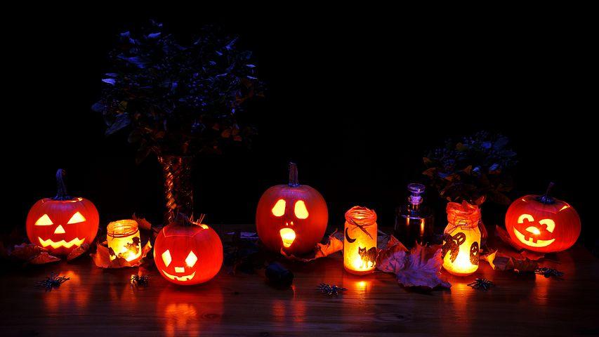 """Décoration d'Halloween """"spéciale bougies"""" + Concours"""
