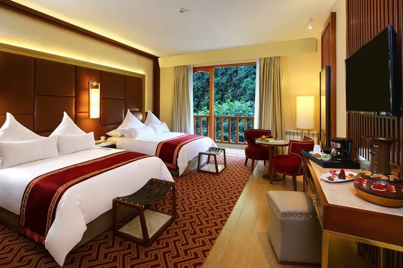 Reservar Hoteles Trenes a Machu Picchu.
