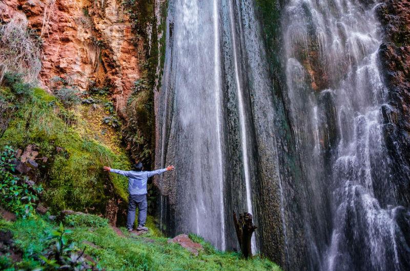Perolniyoc Waterfall Hike - Cachicata Trail