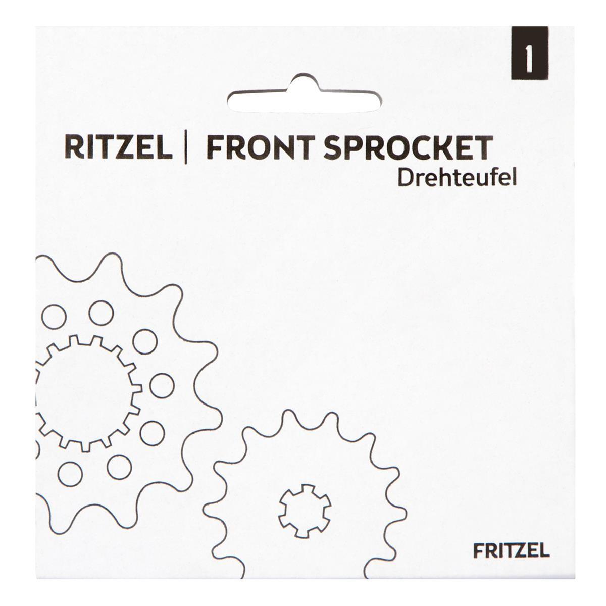 FRITZEL Ritzel Drehteufel Grobverzahnt, Husqvarna CR 125