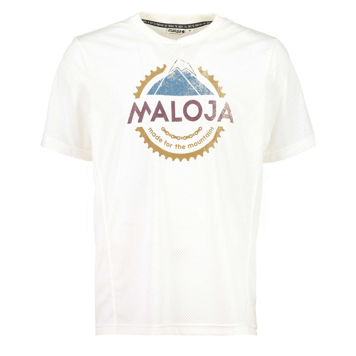 Maloja All Mountain-Jersey Kurzarm ErnestM. Vintage White