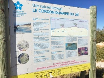 le cordon dunaire du Jaï Marignane
