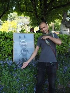 Olivier Glon - Flâneries d'Art contemporain dans les jardins aixois