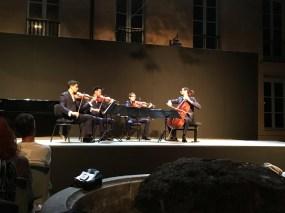Dans les coulisses du Festival d'Aix en Provence 2017 - Quatuor Arod