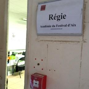 En vadrouille - Dans les coulisses du Festival d'Aix en Provence 2017 -