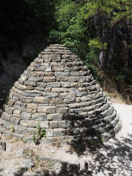 Musée Promenade Digne Les Bains - sentier du Cairn