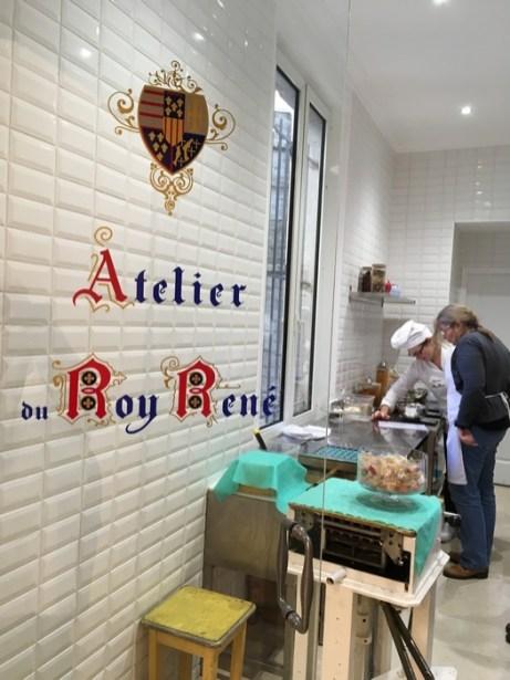 Atelier du confiseur - Calisson du Roy René Aix en Provence